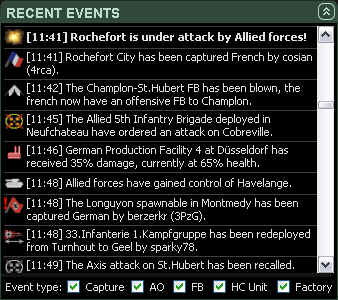 Recent Events