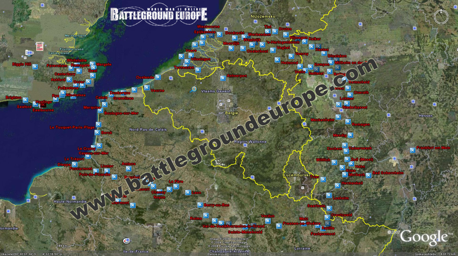 World war ii online battleground europe prosted world war ii online battleground europe google mapg gumiabroncs Choice Image