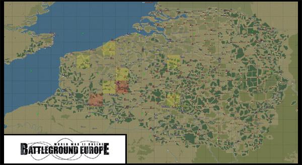 World War II Online: Battleground Europe - Prostředí